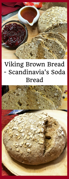 Viking Brown Bread - Scandinavian Soda Bread