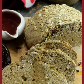 Viking Brown Bread - Scandinavian Soda Bread