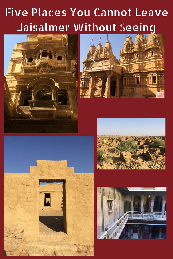 Five Places You Cannot Leave Jaisalmer Without Seeing