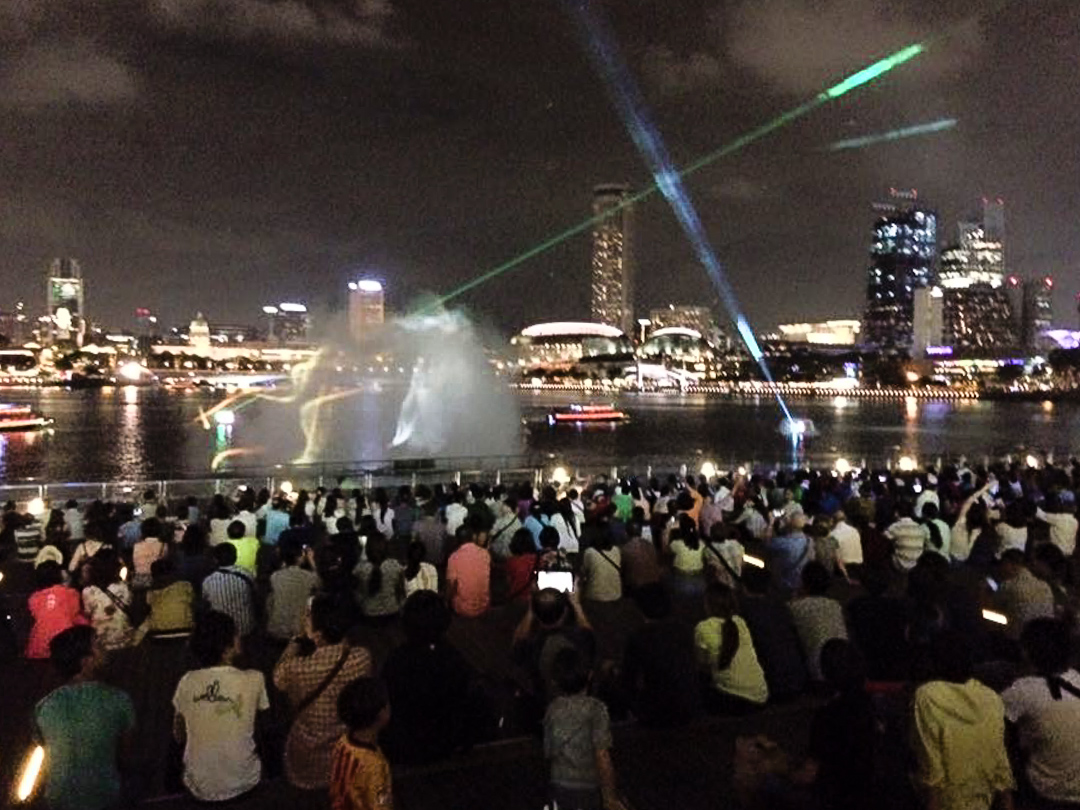 Singapore Laser Shows - When & Where to Watch Them