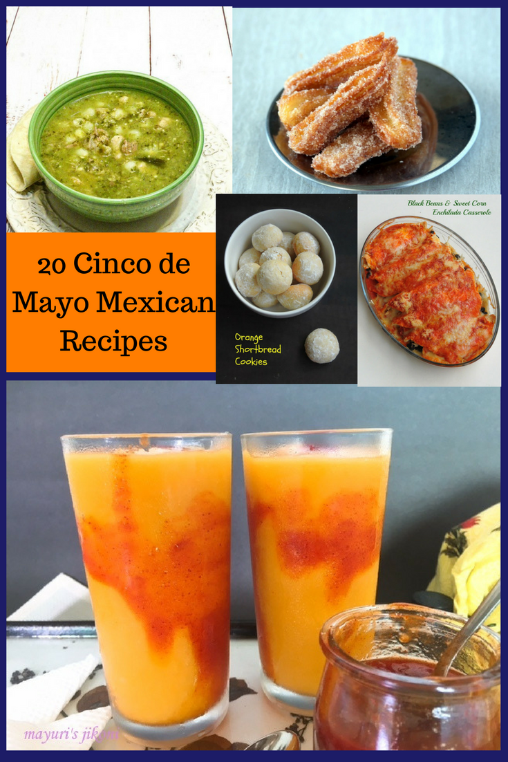 20 Mexican Recipes for #CincodeMayo