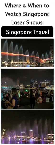 Singapore Laser Shows - Whee & When to Watch them