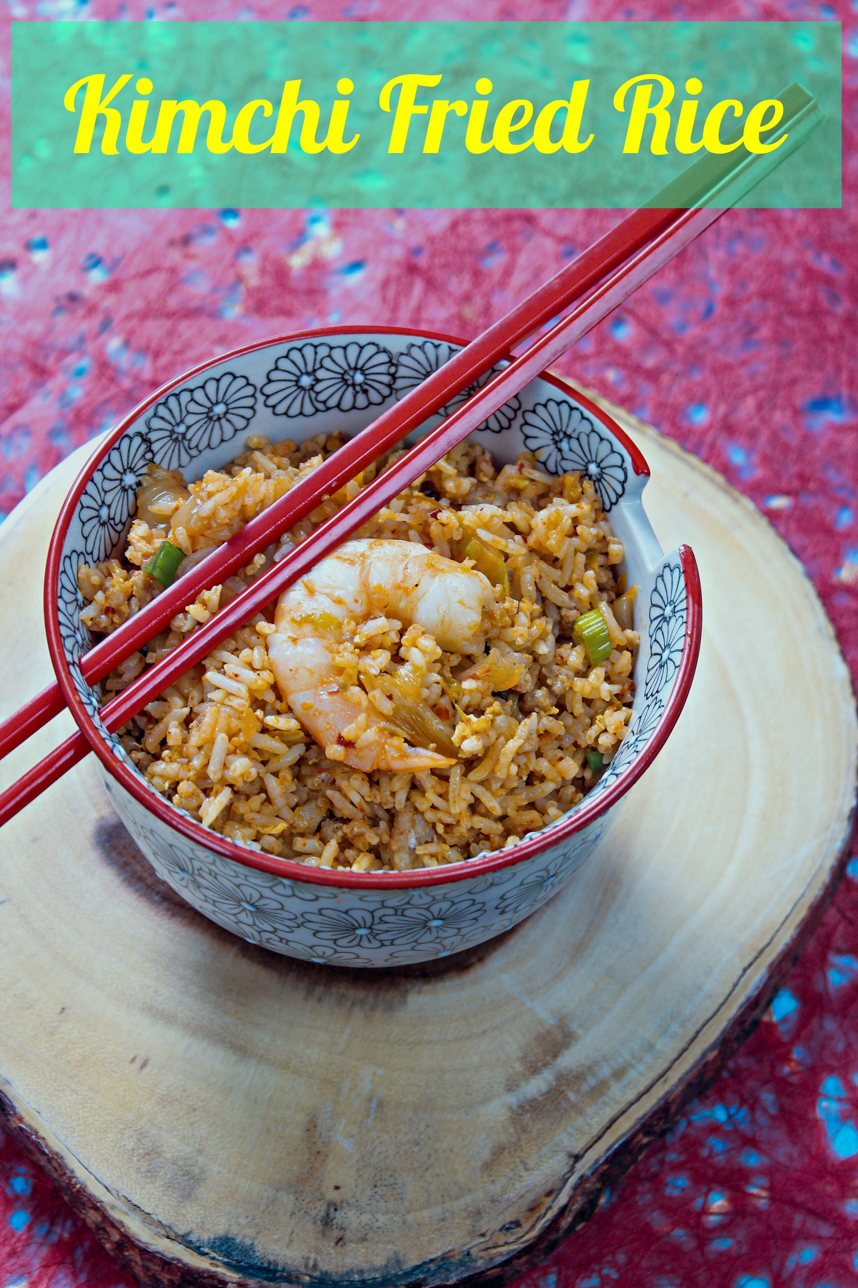 Kimchi Fried Rice - How to Make the PERFECT Fried Rice