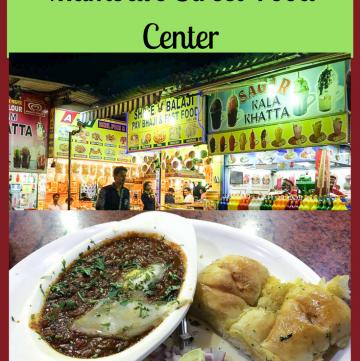 Mumbai Travel - Juhu Beach Street Food