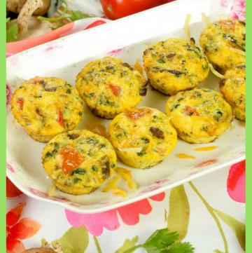 Merguez Frittata Muffins - Perfect Picnic Food