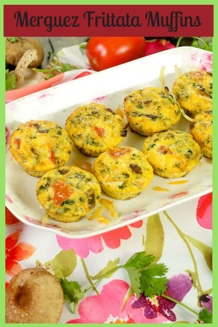 Merguez Frittata Muffins  - Perfect Picnic Food