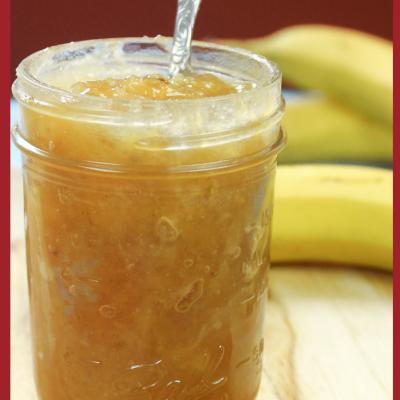 Banana Jam…French Caribbean Style