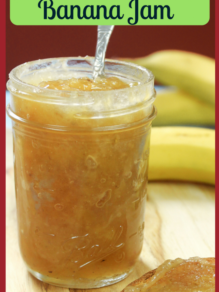 Banana Jam...Caribbean Style