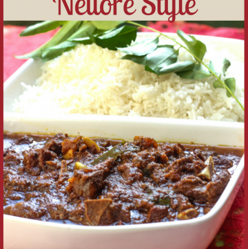 Mutton Curry - Nellore Style (Andhra Pradesh)
