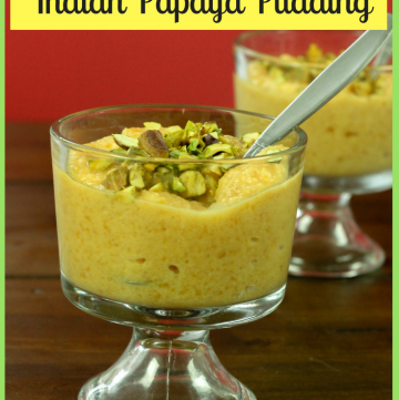 Papaya Payasam - Indian Papaya Pudding Dessert