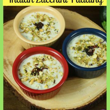 Zucchini Kheer - Indian Zucchini Pudding