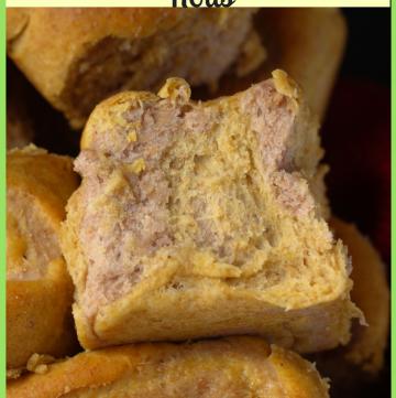 Purple Yam Sweet Potato Rolls for #BreadBakers