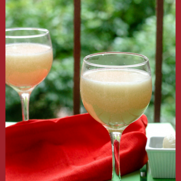 Lychee Juice - Picnic Drink Ideas