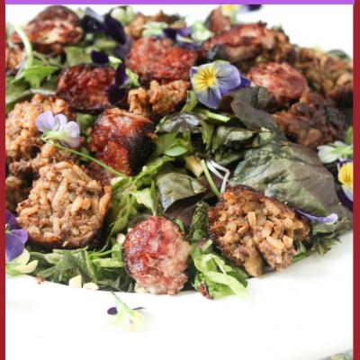 Nam Khao – Laotian Rice Ball Salad