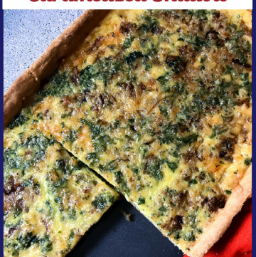 Quiche Lorraine with Caramelized Shallots