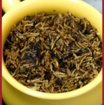Puliotharai - South Indian Tamarind Rice