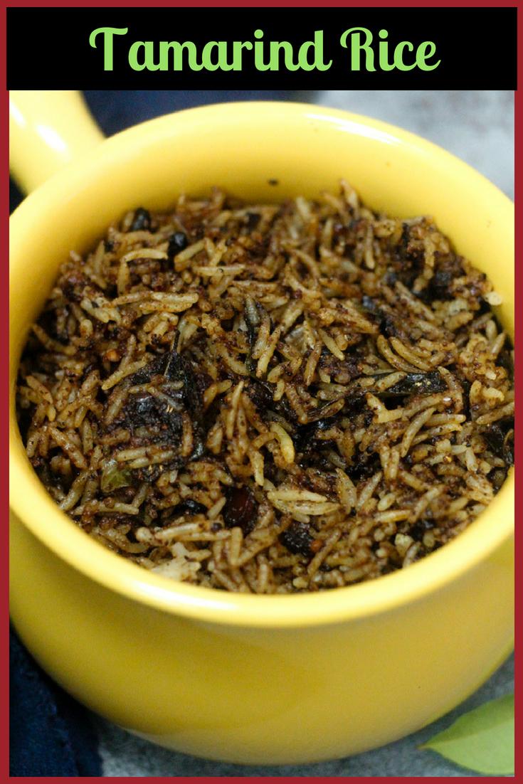 Puliotharai - South Indian Tamarind Rice