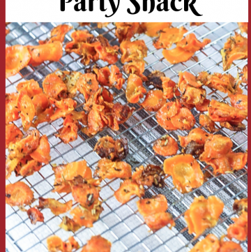 Parmesan Carrot Snack - Healthy Snacks