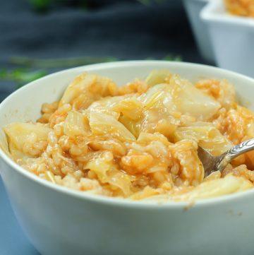Milanese Cabbage Rice