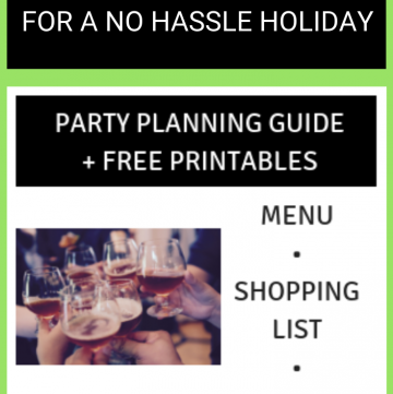 Party Planning for a Crowd + FREE DOWNLOAD