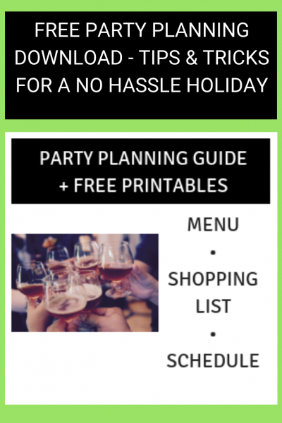 Party Planning Guide + Free Printables