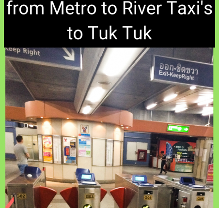 Getting Around Bangkok - Public Transportation Guide