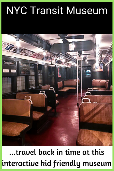 NYC Transit Museum - Kid Friendly Interactive Museum