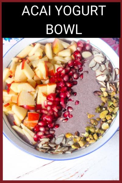 Acai Yogurt Bowl