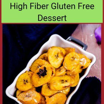 Spiced Orange Plantain Dessert
