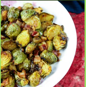 Harissa Brussel Sprout Roast