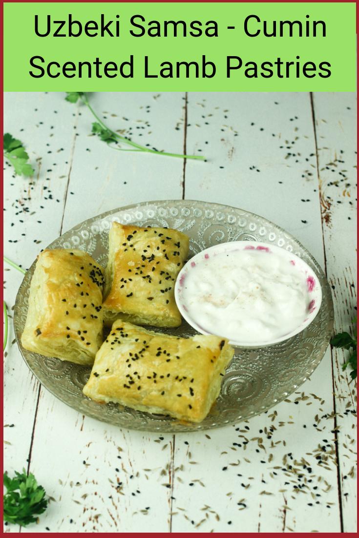 Uzbeki Samsa - Cumin Scented Lamb Pastries