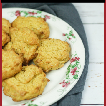 Mealie Cakes - African Cornmeal Biscuits
