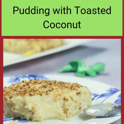 Maja Blanca – Gluten Free Filipino Coconut Pudding