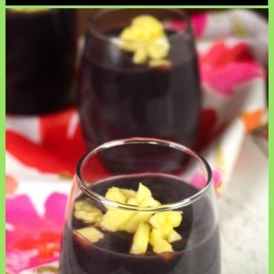 Api Morada – Bolivian Purple Cornmeal Smoothie