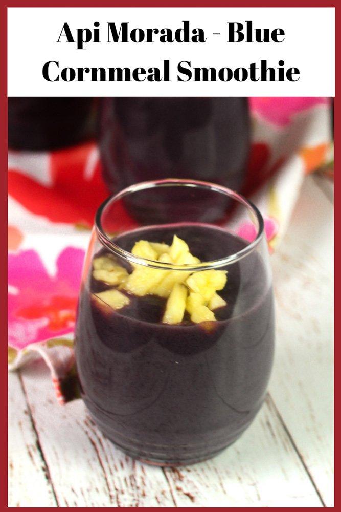 Api Morada - Bolivian Purple Cornmeal Smoothie