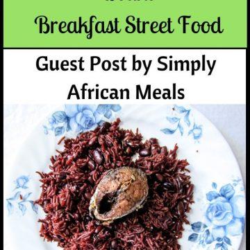 Waakye - Ghanian Rice & Beans - Guest Post