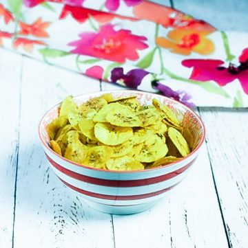 Spiced Plantain Chips