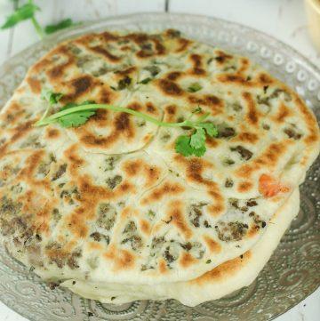 Keema Naan - Lamb Stuffed Flatbread