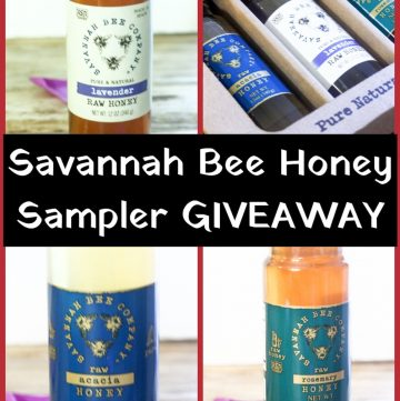 Savannah Bee Honey Giveaway
