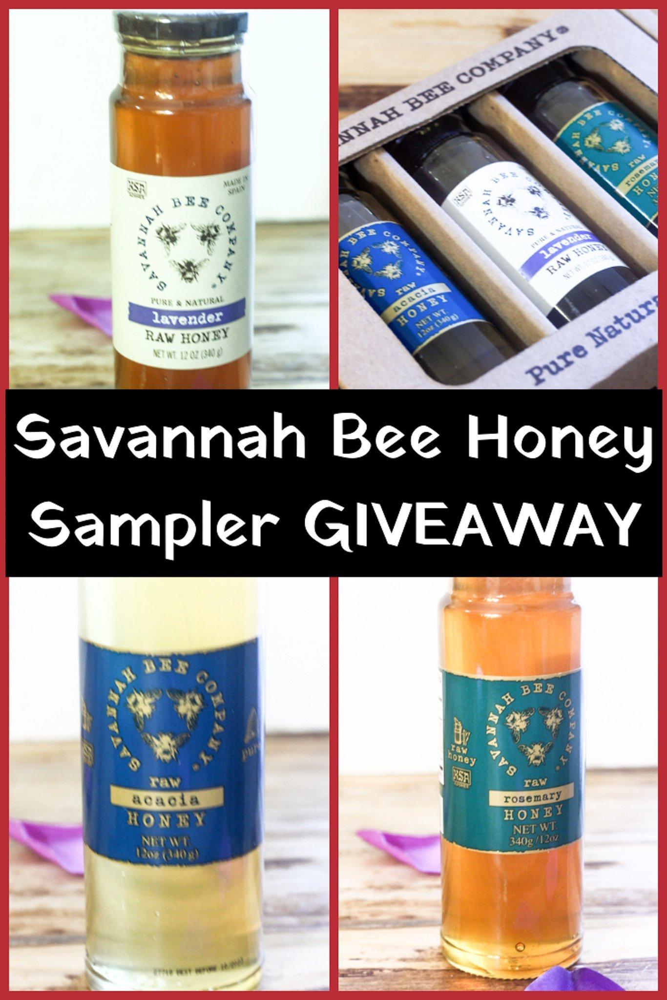 Savannah Bee Honey Giveaway