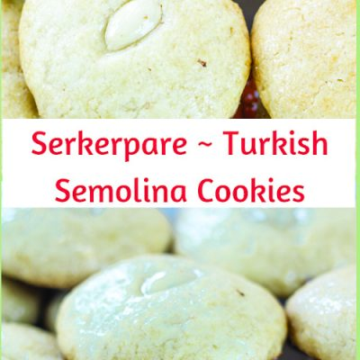 Serkerpare – Turkish Semolina Cookies