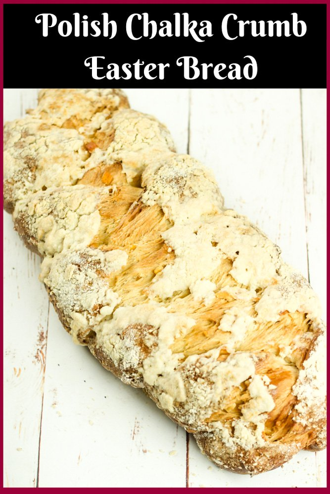 Polish Chalka Crumble Bread