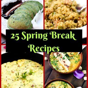 Frittata, Spinach Pancakes, Quino and Laksa