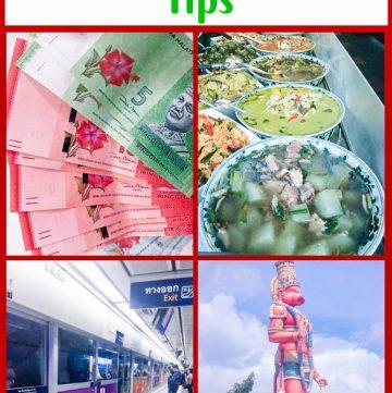 international travel - Trinidada, Malaysian money, Thai Street Food