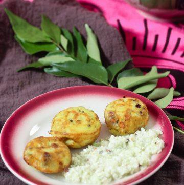 Paniyaram - Indian Savory Pancake Puffs