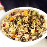 Wild Rice Pilaf with Vegetables recipe