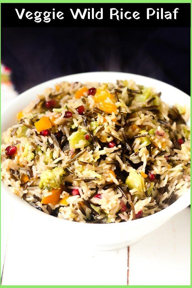 Veggie Wild Rice Pilaf recipe