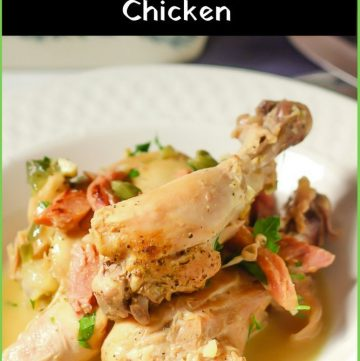 Pollo Boracha - Agentinian Drunken Chicken recipe