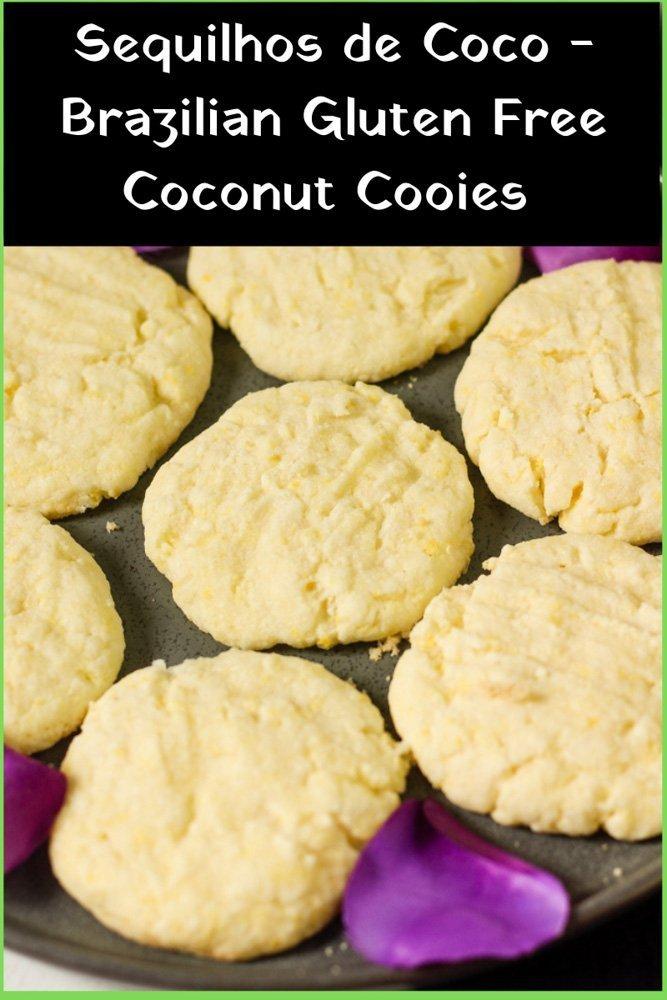 Sequilhos de Coco – Brazilian Coconut Cookies recipe