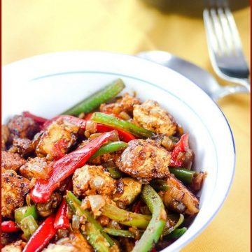 Bow of Chilli Paneer